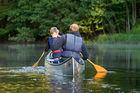Paddla kanot på Nissan i Småland, fr 1580 kr