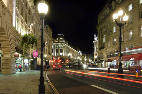 Shoppingguide till London