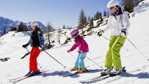 Skidorter som passar extra bra för barnfamiljen