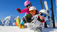 Med kids i Alperna