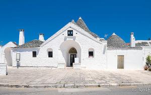 Trullohus i Alberobello