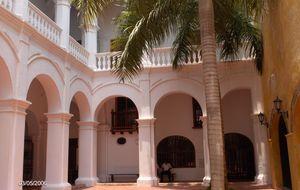 Kolonial byggnad - Cartagena de Indias