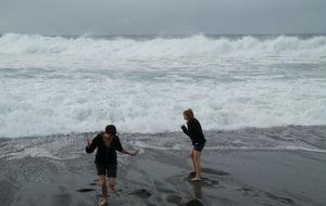 Blev bara lite blöta Fuerteventura