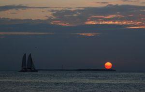 Solnedgång i Key West