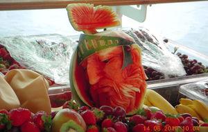 Fruktstund på kryssning