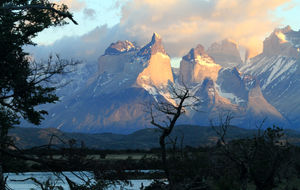 Chile Torres del Paine nationalpark