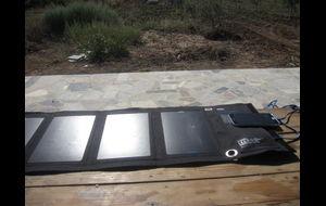 Solenergi, mobilladdare