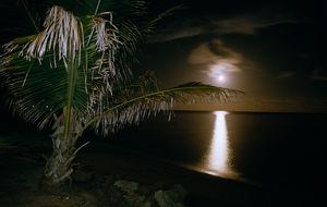 Månuppgång i Australien