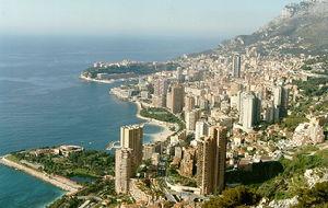 Vy över Monaco