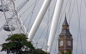 London Eye och Big Ben