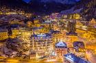 Mysigt julbord i Alperna
