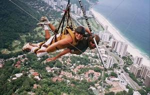 Hang-gliding Över Rio