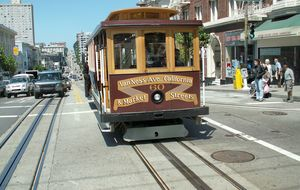Cable Car i Frisco
