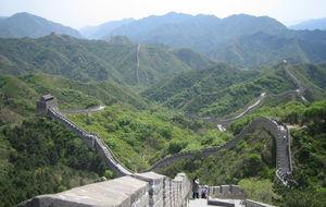 Muren / China, Beijing ,Badaling, Huanghuacheng