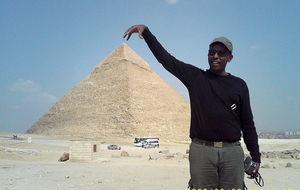 Jag fångar hela Pyramiden