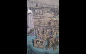 Utsikt från Burj Khalifa