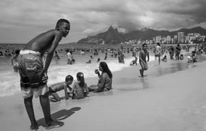 Ipanema, Rio de Janeiro, 3 januari 2015.