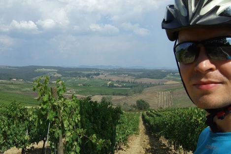 Cykla i Toscana