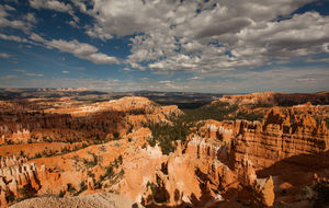 Bryce Canyon - afternoon facing east