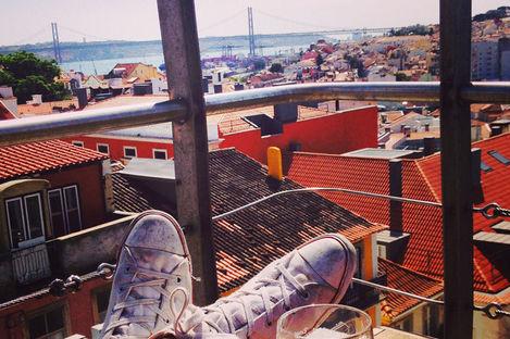 Lissabon – 4 måsten