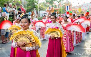 Kinesiska nyåret firas i Hua Hin