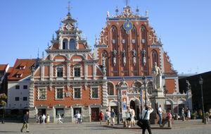 Fantastisk byggnad i Riga.
