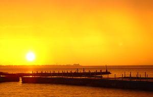 Solnedgång i Havanna - Comondoro