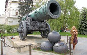 Tsarkanonen i Kreml