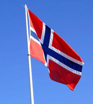 17 maj flaggas det på varje flaggstång i Norge.