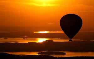 Ballongflyg över Stockholm