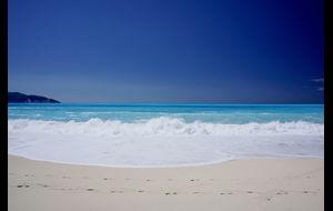 Spår i sanden.....