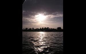 Solnedgång på Nilen