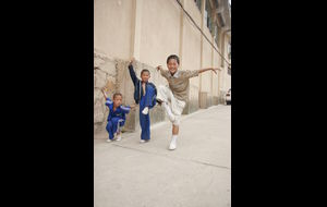 Blivande Kung fu-mastare