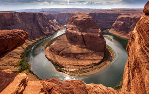 Horseshoe Bend, The afternoon version