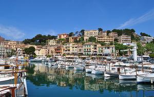 Spanien. Mallorca. Puerto de Soller