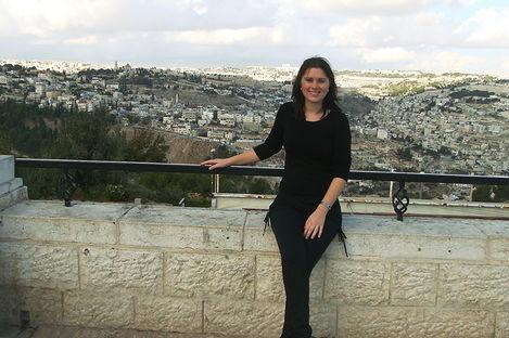 – Jag åkte på en historisk resa till Israel