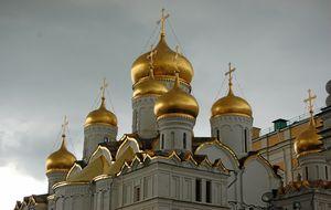 Gyllene kupoler i Kreml