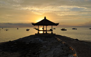 Indonesien. Bali. Sanur Beach