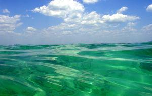 Vatten & himmel