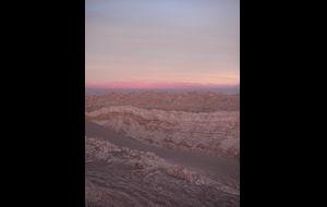 Skymmning i Atacamaöknen