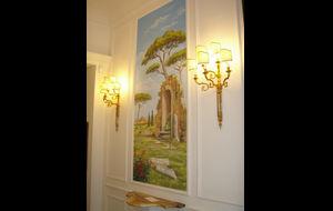 trapphus målningar