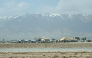 Bagram Airfield, norr Kabul