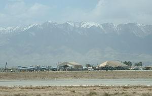Bagram Airfield, norr Kabul