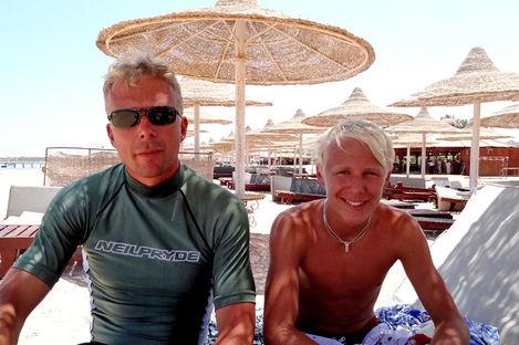 Strandliv i Sharm el-Sheikh