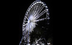 Pariserhjulet på marknaden