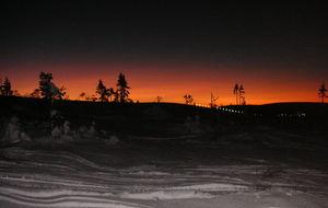 Kvällsåk i Sälen