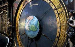 astronomiska klockan