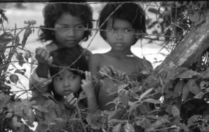 Kids at Killing Fields