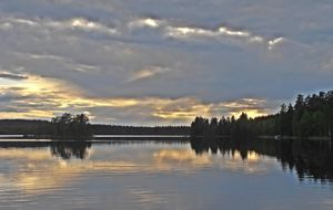 Kväll i Savonranta