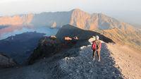 Gunung Rinjani – en utmanande vulkanbestigning